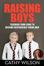 RAISING BOYS - NEW PAPERBACK BOOK