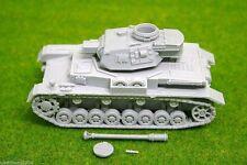 SCALA 1/48 – 28 mm WW2 Tedesco Panzer IV Ausf. F2 in resina Tank una BLITZKRIEG Miniatures