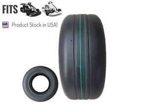 Fits Ninebot Gokart And Gokart Pro Front Tire with Green line