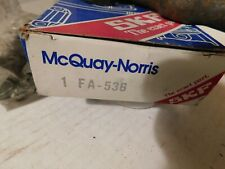 FA 536 MCQUAY 1967-72 Ford Falcon Maverick Front Upper Control Arm Shaft Kit
