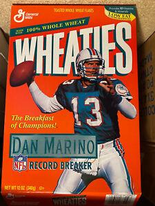 1995 Wheaties Box Dan Marino Miami Dolphins