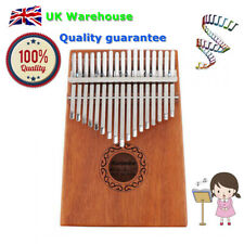 More details for electric kalimba 17 key finger thumb piano with pickup for professional beginner