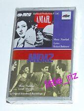 Amar (1954) / Andaz (1949) - Bollywood Indian Cassette (not CD) Raj Kapoor