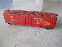 Vintage HO Scale Tyco ATSF El Capitan 49277 Box Car