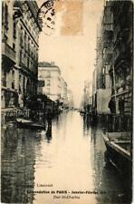 CPA PARIS Rue St-Charles INONDATIONS 1910 (605242)
