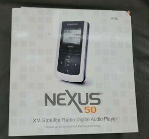 NEW SEALED SAMSUNG NEXUS 50 XM2GO XM SATELLITE RADIO MP3 PLAYER YP-X5Z