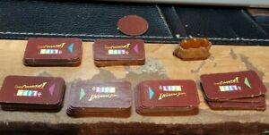 Indiana Jones The Game of Life Replacement 35 Cards Tiles & Sankar Stones Token