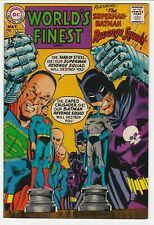 World's Finest Comics #175 VF 8.0 Batman Superman Neal Adams Flash Robin 1968