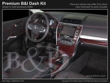 Dash Trim Kit for TOYOTA CAMRY 15 16 17 carbon fiber wood aluminum