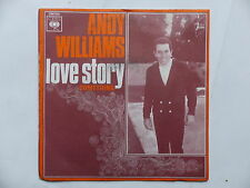 ANDY WILLIAMS Love story CBS 7020