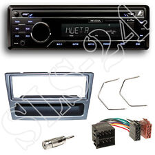Mueta A4 CD USB SD Radio Set + Suzuki Wagon R+ Blende anthrazit + Adapter