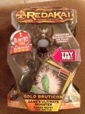 2011 SPIN MASTER--REDAKAI--GOLD BRUTICON FIGURE NEW IN BOX