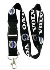 Volvo Lanyard Neuf Noir Vendeur Britannique-Porte-clés ID Holder Phone Strap Voiture Logo