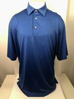 FOOTJOY FJ - Embroidered Logo Blue Mens XL GOLF POLO Shirt
