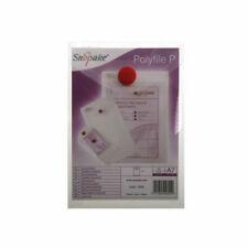 Snopake Polyfile P File Wallet Portrait A7 Clear (Pack of 5) x 5