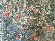 STUNNING SCANDANAVIAN 1960S  VINTAGE FABRIC 117CM 181 CM,,CURTAINS ,TABLECLOTH E