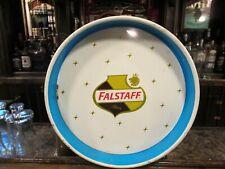 """Vintage 1960's Falstaff Beer, metal beer tray, 13"""""""