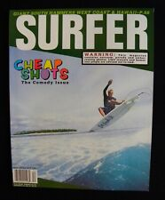Surfer Magazine Uncirculated 1996 Vol.37 Dec. Surfing Hawaii Surfer Longboard