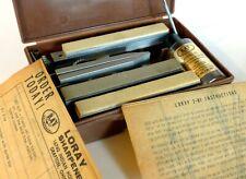 New ListingLoray 2B-1 Knife Blade Sharpener Kit Honing Oil Stone Clamp