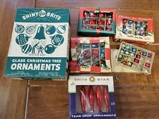 New ListingVintage Shiny Brite and other Mini Ornament Lot. See Photos.
