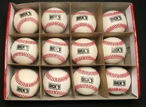 Adidas DICK'S SPORTING GOODS Official League Baseball One Dozen