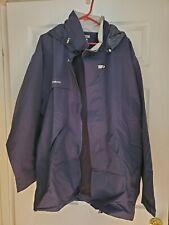 Decathlon Tribord Men's Blue Waterproof Jacket US Size XL