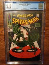 Amazing Spider-Man 63 CGC 2.5 Vulture Appearance Stan Lee story Romita cover