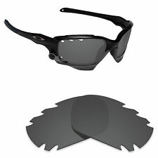 Hawkry Polarized Replacement Lenses for-Oakley Jawbone Vented Stealth Black