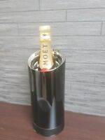 MOET CHANDON METAL CHAMPAGNE BOTTLE CHILLER ice bucket ISOTHERM Jean Marc Gady