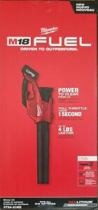 NEW - Milwaukee 2724-21HD M18 Fuel 18V 450-CFM 120-Mph Leaf Blower Kit