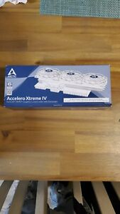 Arctic Accelero Xtreme IV GPU Cooler with backplate and gpu support bracket new!