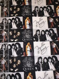 The Queen Artist  👑 Freddie 100% Cotton Fabric 1/4 Yard -Remnants
