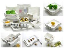 26Pcs vagues porcelaine vaisselle céramique vaisselle dinning dîner set ensemble de services