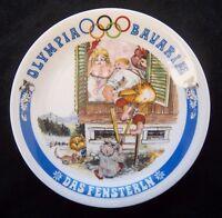 Orig.Porzellanteller  Olympische Spiele MÜNCHEN 1972 - Bayrische Disziplin B  !!