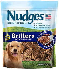 Nudges Grillers Burger Made with Real Beef, 16 Ounce