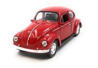 Modellauto VW Käfer Beetle OVP Rot Auto 1:34-39 (lizensiert)