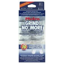 NEW - Plackers Grind No More dental night protector guard (10 pack) FREE P&P