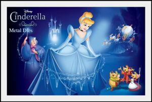 Cinderella Disney Licensed Metal Dies by Character World 6 designs  NEW!