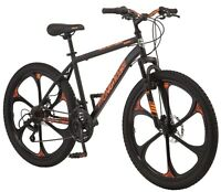 New Men's Frame Mongoose Mack Mag Wheel Mountain Bike 26-inch Wheel 21 Speeds