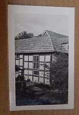 Postcard The blue Idol Horsham Sussex Real photo Unposted