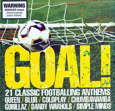 Goal: 21 Classic Footballing Anthems [EMI] by Various Artists (CD, Apr-2006, EMI Music Distribution)