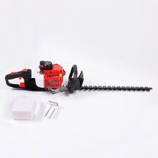 "PAS 22cc 23"" Hedge Trimmer Petrol 2 Stroke Dual Blade Saw Clipper Garden Pruner"