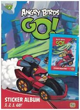 1 Angry Birds GO! Album and 4 Packs of Stickers Giro Max Enter Play 2014