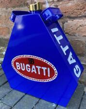 Vintage Style Petrol Fuel Jerry Can - BUGATTI - Automobilia / Garage - Blue