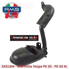 """2431304 - Marmitta """"RMS"""" Tipo Originale per Piaggio Vespa PK 50 dal 1982"""