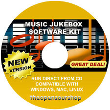 Pro medios de comunicación de la música de Colección: Pc Jukebox Disco Duro Reproductor De Audio Cd