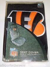 NFL NIB Car Seat Cover By Fremont Die - Cincinnati Bengals