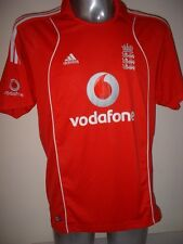 Críquet de Inglaterra, Camiseta Jersey formación Adulto Grande Adidas cenizas warmup de ocio