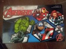 Marvel Avengers Boxed 4 Pairs Sock Set w/box Thor, Hulk, Iron Man, Capt America