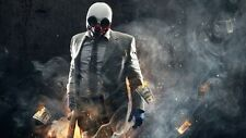 POSTER PAYDAY 2 THE HEIST PAY DAY DALLAS HOXTON CHAINS WOLF PS3 XBOX 360 GAME #4